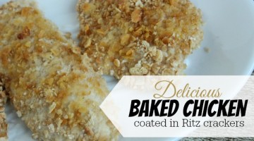 ritz cracker baked chicken recipe