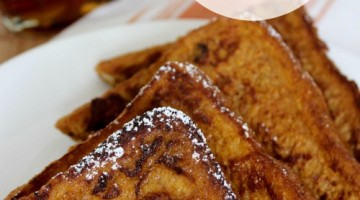 try this delicious pumpkin french toast recipe
