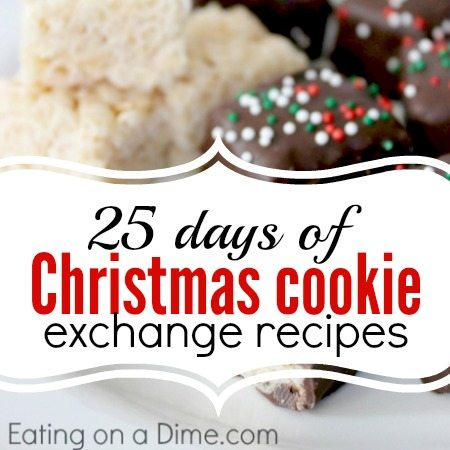 25 Days Of Christmas Cookie Exchange Recipes Eating On A