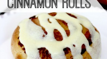 delicious egg nog cinnamon rolls