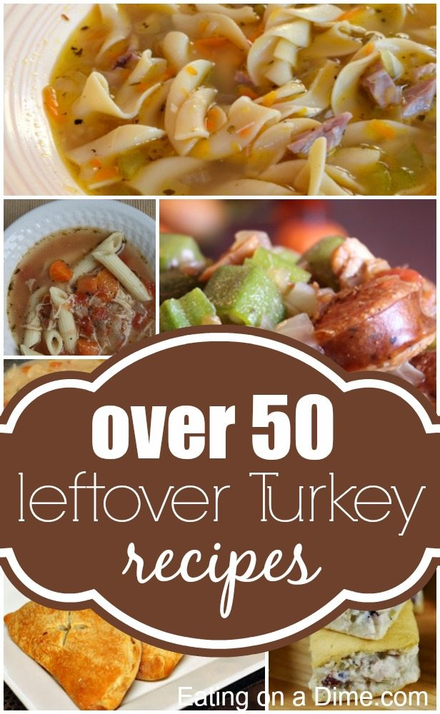 leftover turkey recipes 50 easy turkey leftovers recipes ForLeftover Thanksgiving Turkey Recipes