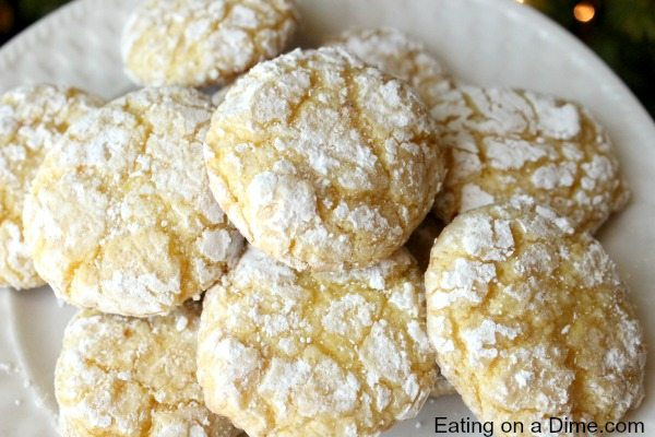Lemon Cool Whip Cookies - Eating on a Dime