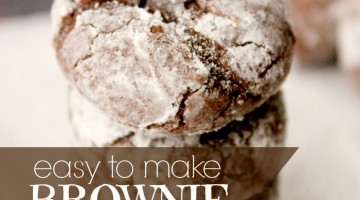 brownie cookies - square