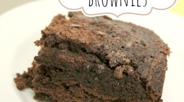 diet coke brownies - square