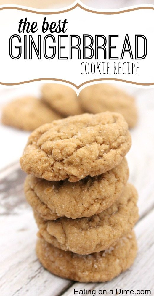 Large Soft Old Fashion Molasses Cookies