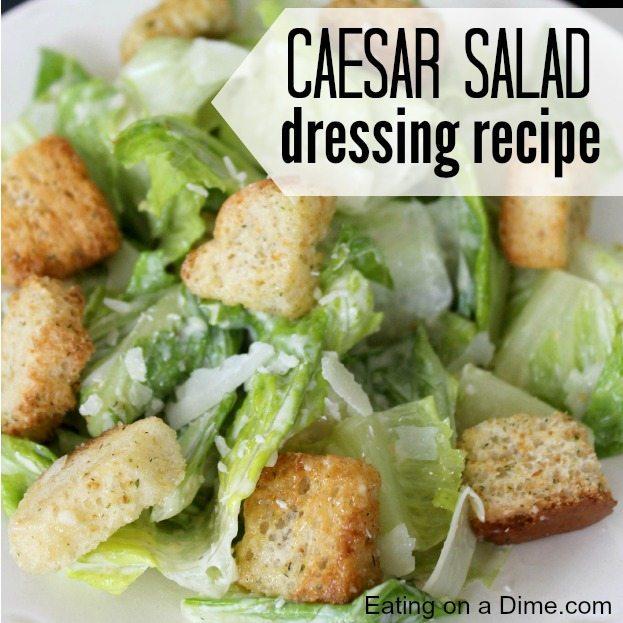 how to make garlic caesar dressing