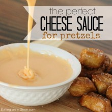 cheese sauce for pretzels square
