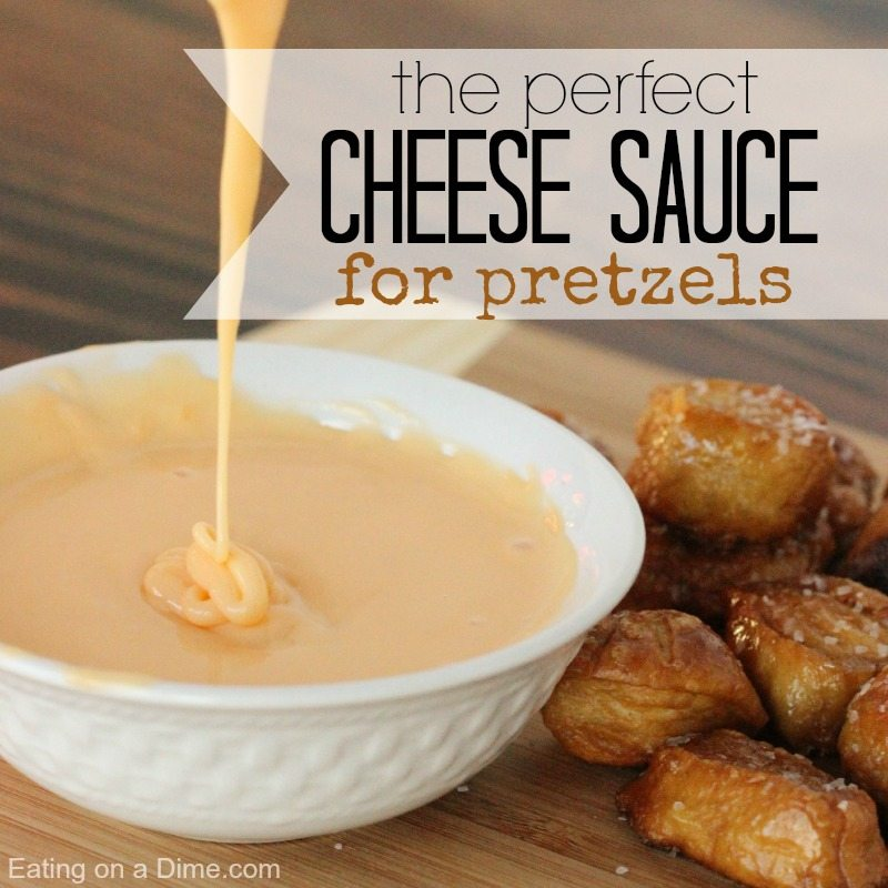 cheese sauce for pretzels
