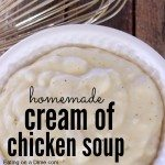 cream of chicken soup recipe square