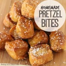 pretzel bites square