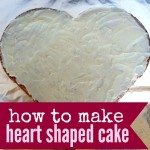 How to make a Heart Shaped Cake square