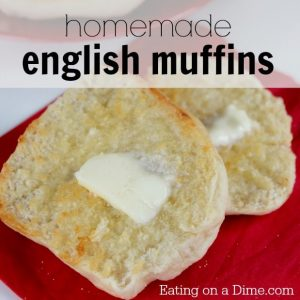 Easy Homemade English Muffin recipe - Eating on a Dime