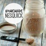 homemade nesquick square