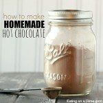 how to make homemade hot chocolate - square