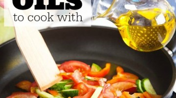best oils to cook with - square