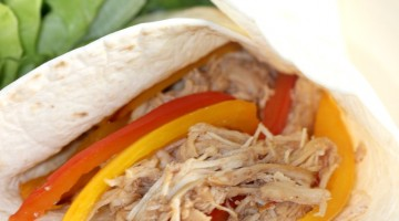 crock pot chicken fajitas square