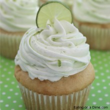 key lime cupcakes square