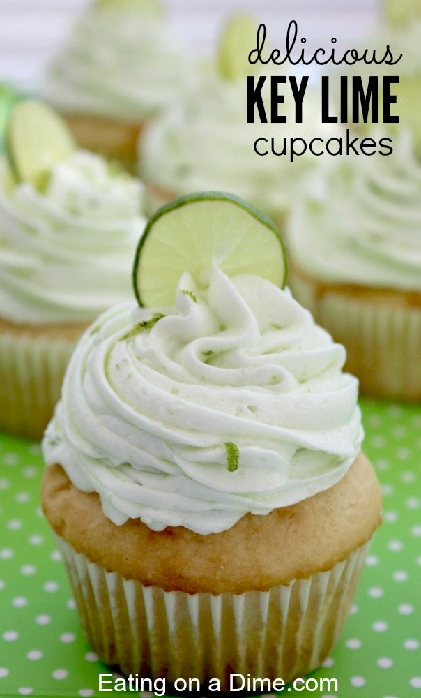 Can you tell I love dessert? These Key Lime cupcakes are no different ...