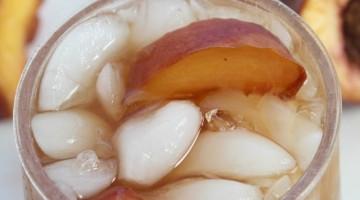 peach iced tea square