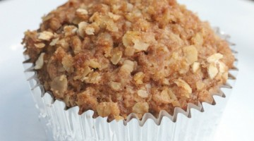 applesauce muffins square