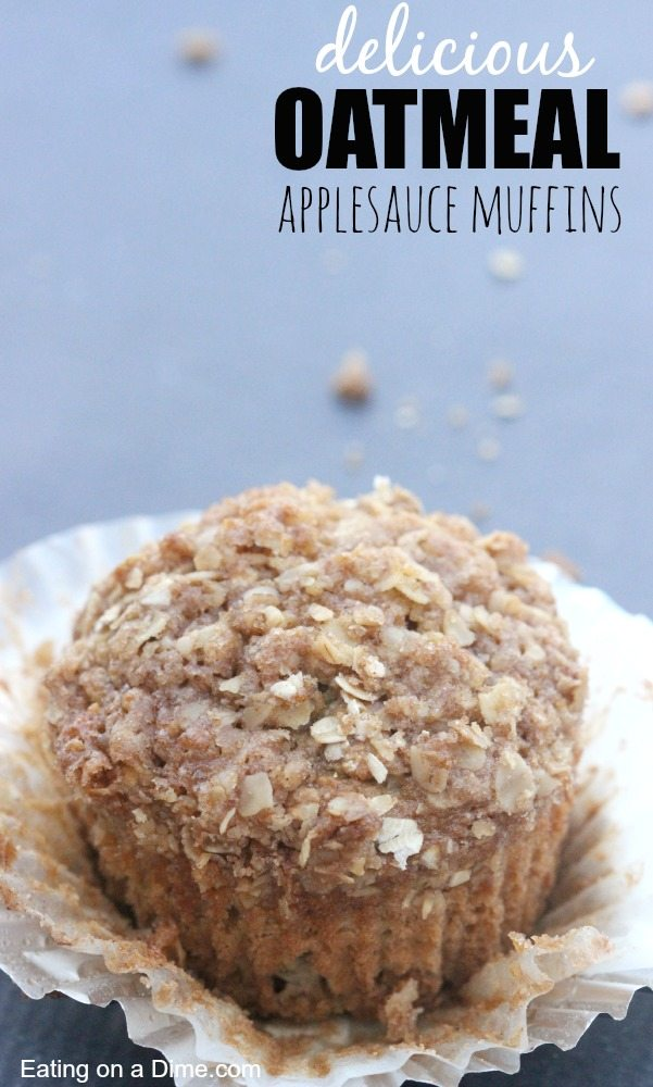 Oatmeal Applesauce Muffins (that will knock your socks off) - Eating ...