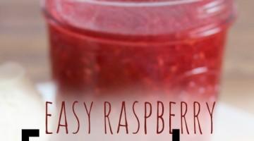 raspberry jam square