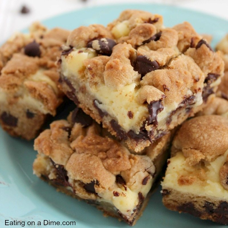 Chocolate Chip And Coconut Bar Cookies