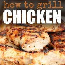 how to grill chicken square