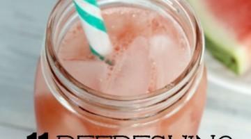 watermelon drink recipes square