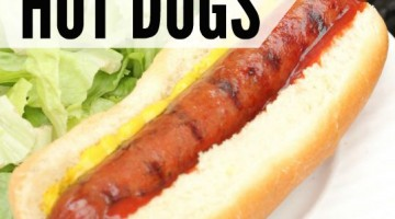 how to grill hot dogs square