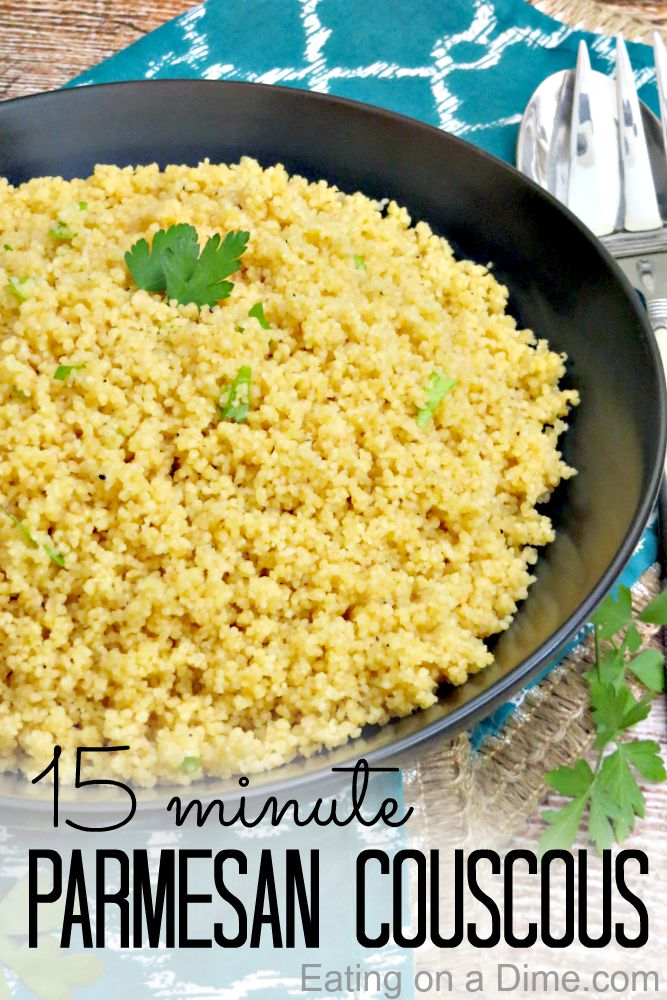 How To Make Couscous Recipe Eating On A Dime