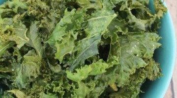 kale chips - square