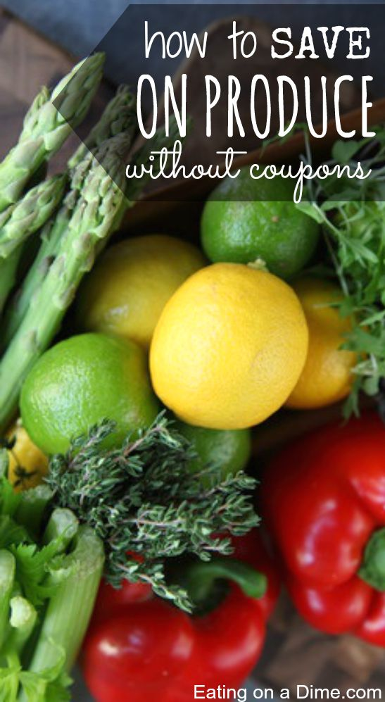 save on produce without clipping coupons