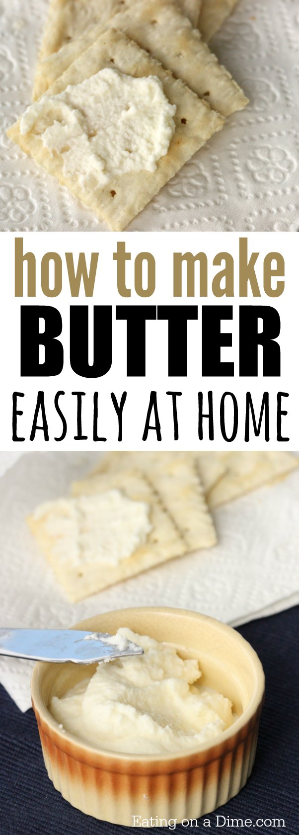 How to make butter wit...
