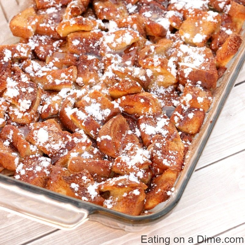 This Overnight French Toast Casserole Recipe Is Easy To Make And Perfect When You Have Old