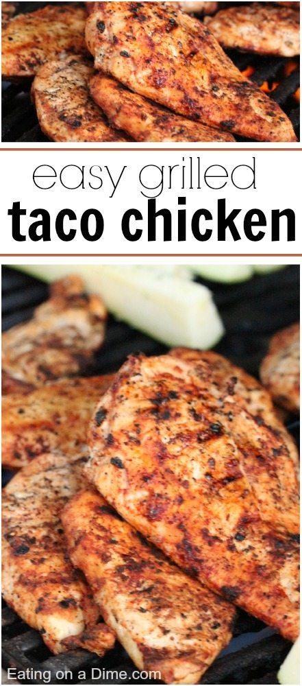 grilled taco chicken marinade