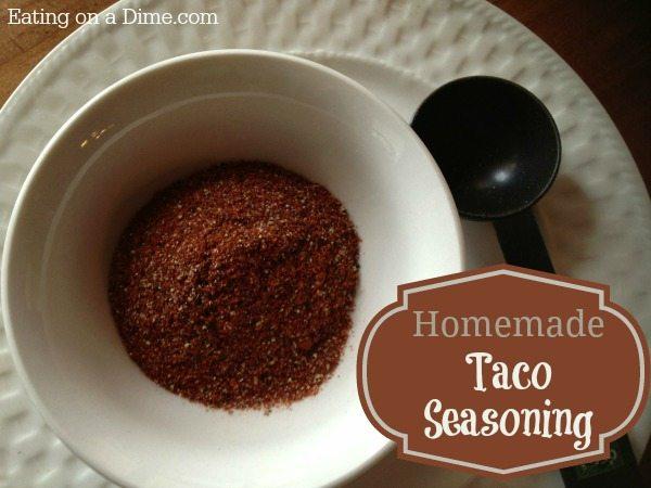 easy recipe for homemade taco seasoning