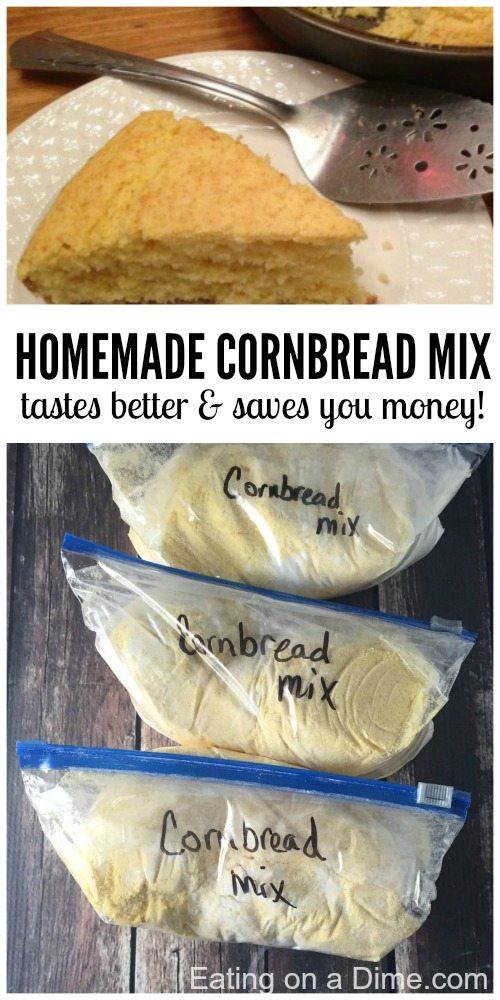 easy homemade cornbread mix