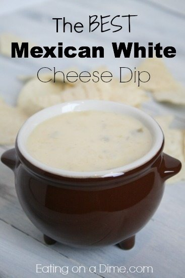 White Cheese Dip Recipe Like Mexican Restaurants