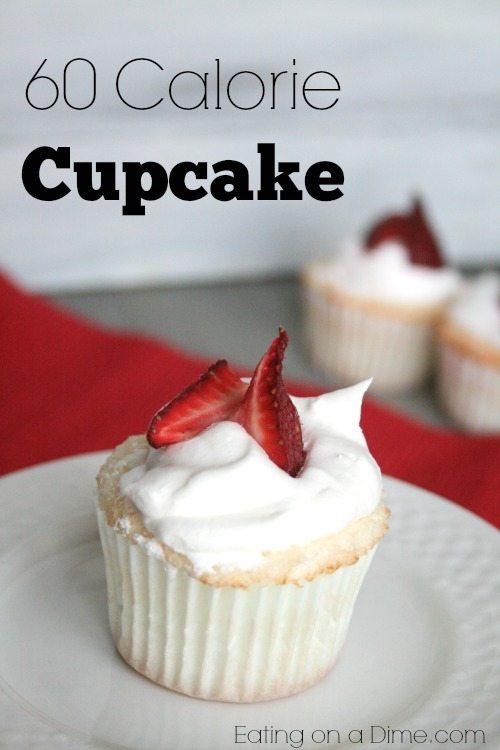60 calorie cupcake