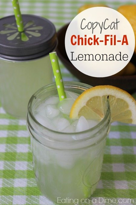 copycat chick fil a lemonade recipe