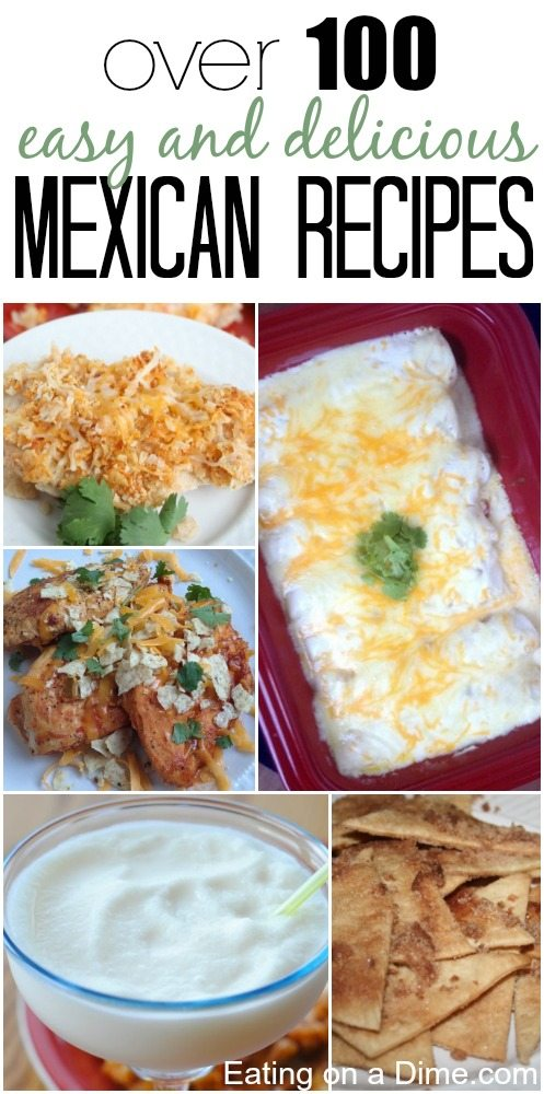 over 100 mexican recipes