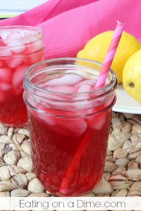 this starbucks passion tea lemonade is delicious