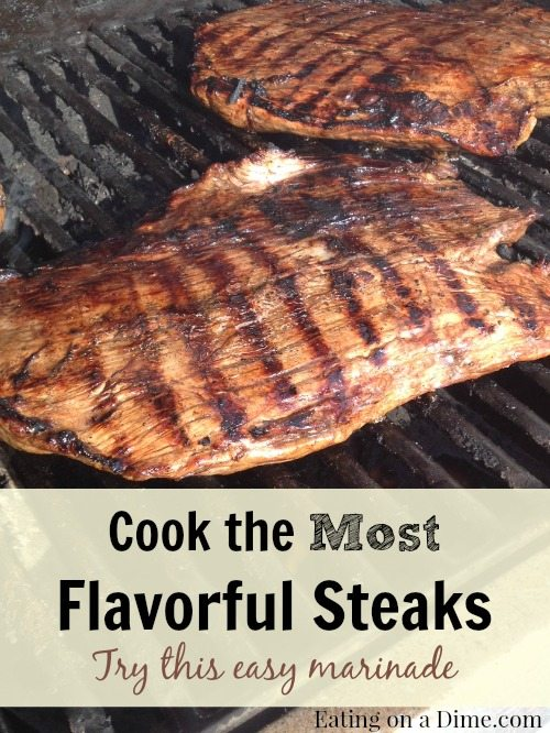 this steak marinade is by far the best. You can use it on any meat and it has only three ingredients