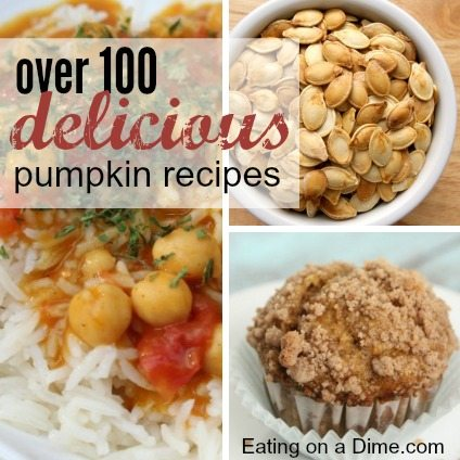 huge roundup of pumpkin recipes