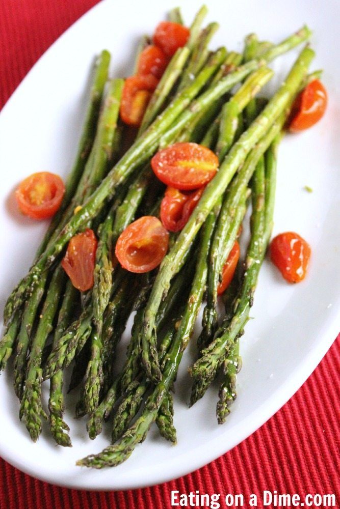 How to cook asparagus in the oven easy roasted asparagus recipe roasted apsaragus recipe cooking asparagus in the oven ccuart Gallery
