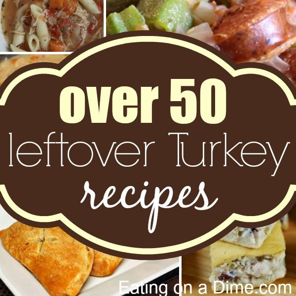 We have the biggest roundup of leftover turkey recipes. In fact we have over 50 delicious turkey leftovers recipes that your family will love.
