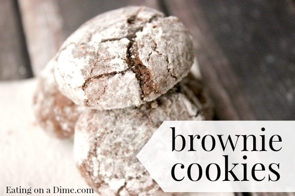 Try this easy Chocolate Brownie Cookies recipe. They are easy to make but taste amazing. They are fabulous around the holidays, just because.