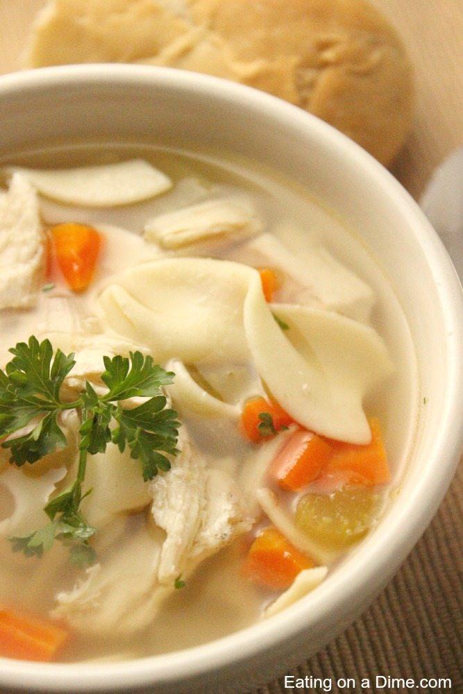 panera bread chicken noodle soup recipe