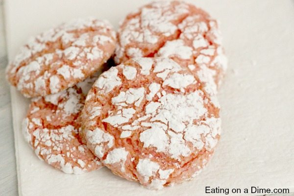 strawberry cookies are easy to make